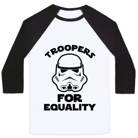 Troopers For Equality Baseball Tee