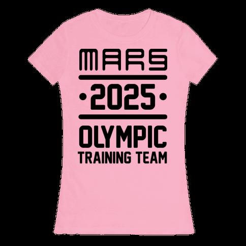 Mars Olympics Womens T-Shirt