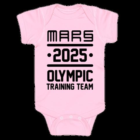 Mars Olympics Baby Onesy