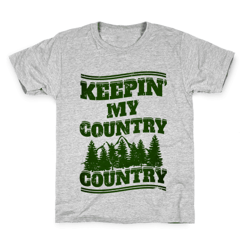 Keepin' My Country Country Kids T-Shirt