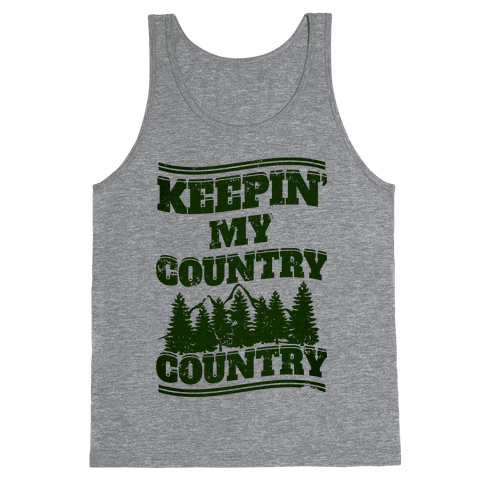 Keepin' My Country Country Tank Top