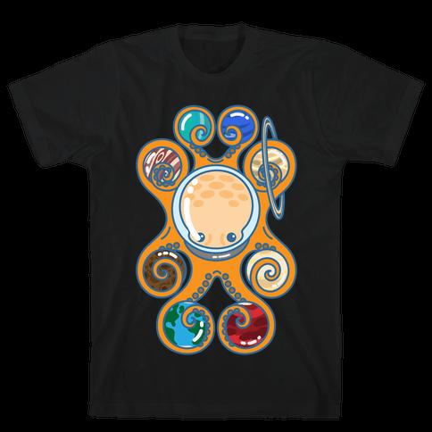 Astronoctopus Mens T-Shirt