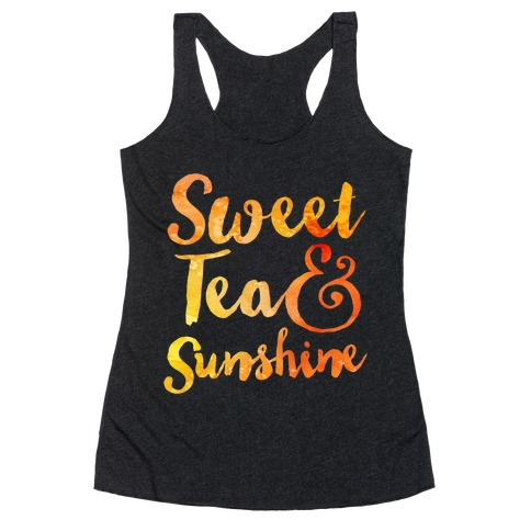 Sweet Tea & Sunshine Racerback Tank Top