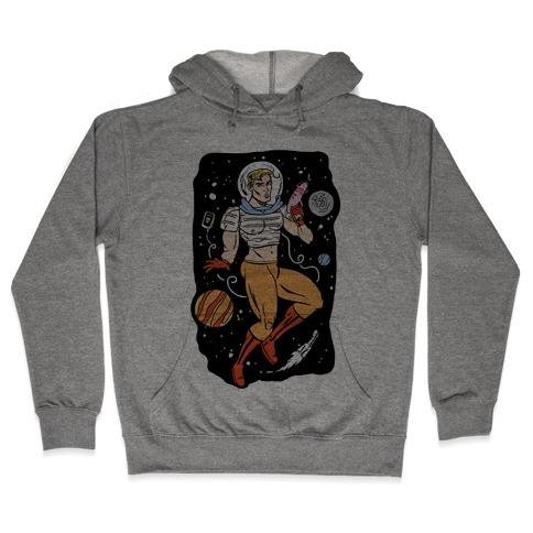 Gaylactic Warrior Hooded Sweatshirt