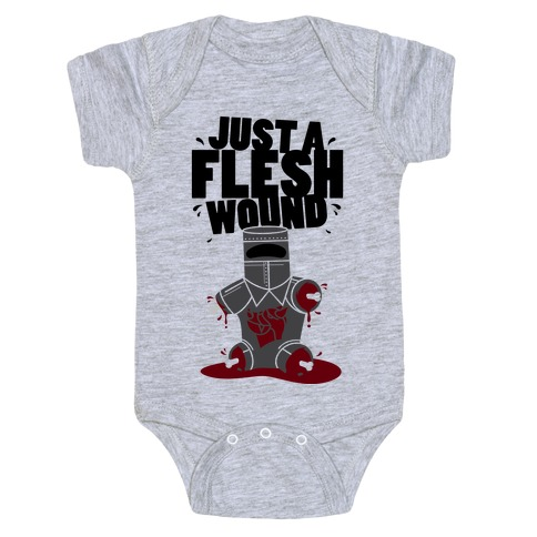 Just A Flesh Wound Baby Onesy