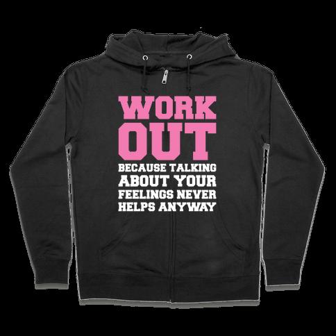 Work Out Zip Hoodie