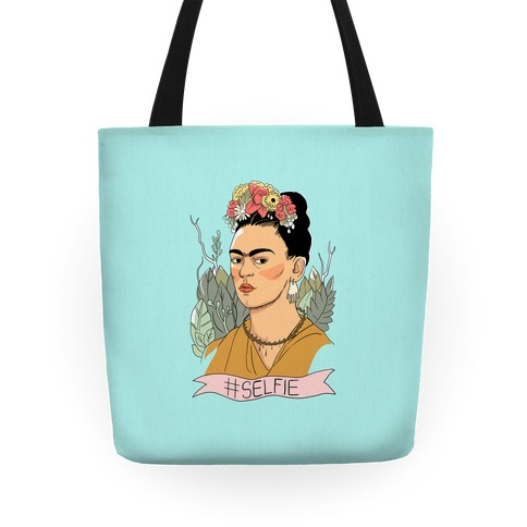 Frida #Selfie Tote