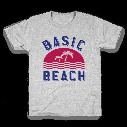 Basic Beach Kids T-Shirt