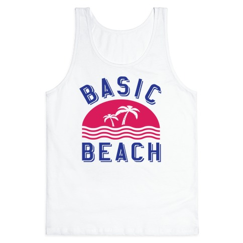 Basic Beach Tank Top