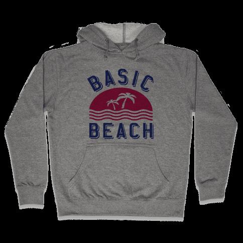 Basic Beach Hooded Sweatshirt