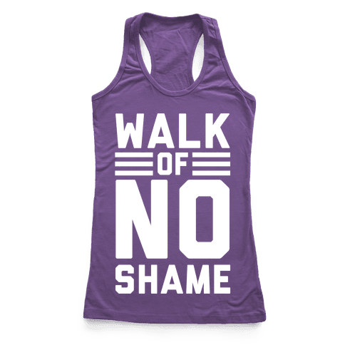 Walk Of No Shame Racerback Tank Top