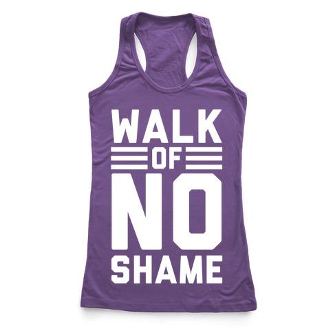 Walk Of No Shame Racerback Tank Top