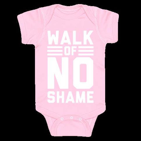 Walk Of No Shame Baby Onesy
