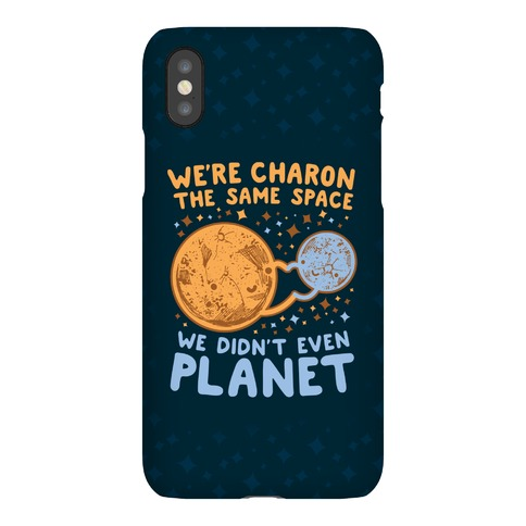 Didn't Even Planet Phone Case