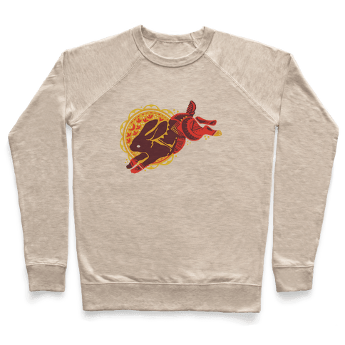 Tribal Rabbit Pullover