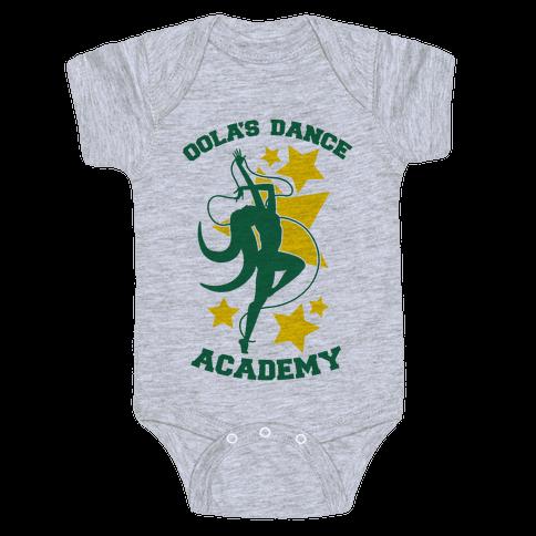 Oola's Dance Academy Baby Onesy