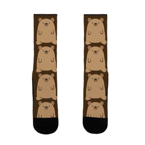 Fat Bear Sock