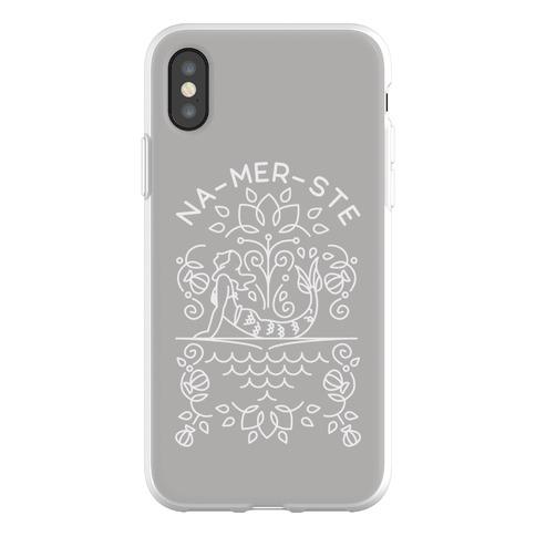 Na-Mer-Ste Mermaid Yoga Phone Flexi-Case