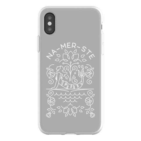 Na-Mer-Ste Mermaid Yoga Phone Flexi-Case