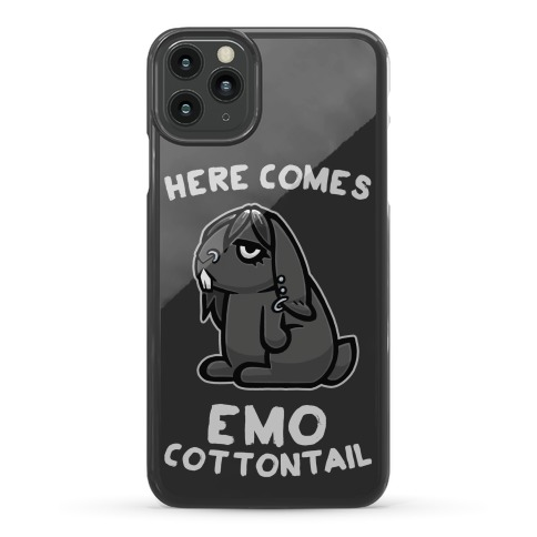 Here Comes Emo Cottontail Phone Case