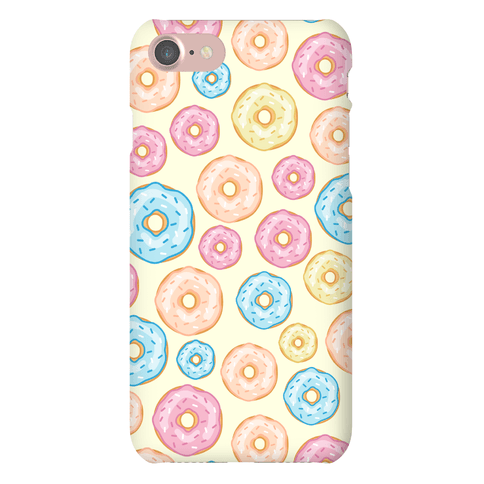 Donut Pattern Phone Case