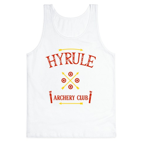 Hyrule Archery Club Tank Top