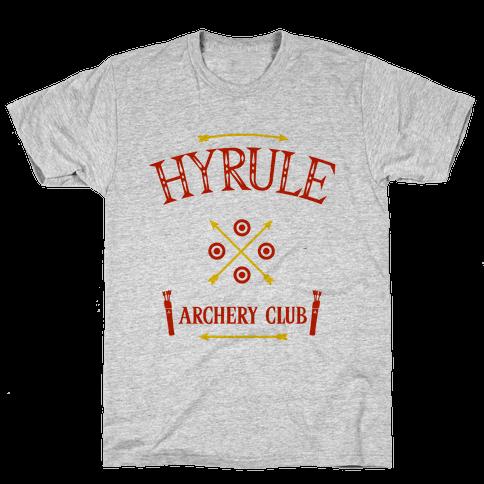 Hyrule Archery Club Mens T-Shirt