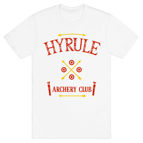 Hyrule Archery Club Mens T-Shirt