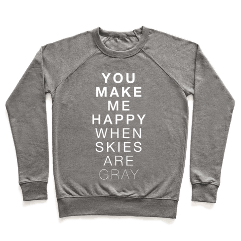 You Make Me Happy (SUNSHINE) Pullover
