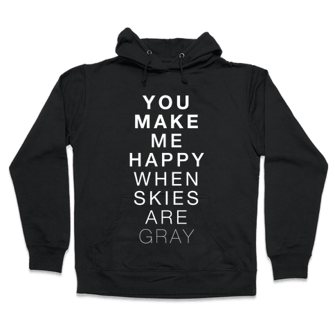 You Make Me Happy (SUNSHINE) Hooded Sweatshirt
