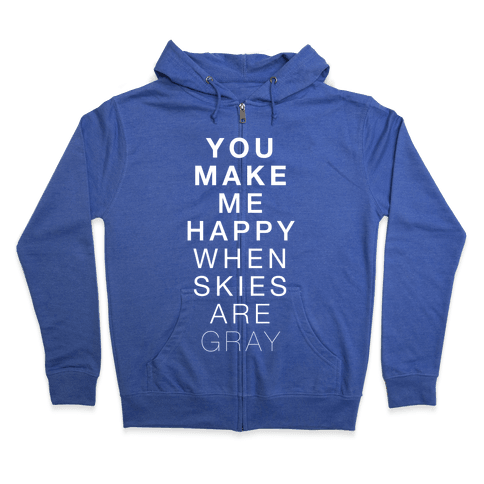 You Make Me Happy (SUNSHINE) Zip Hoodie