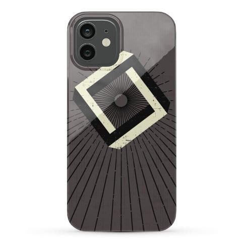 3D Geometric Square Phone Case