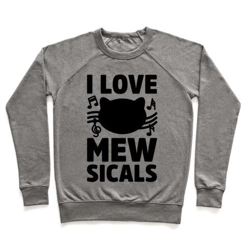 I Love Mewsicals Pullover