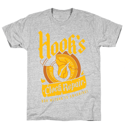 Hook's Clock Repair Mens T-Shirt