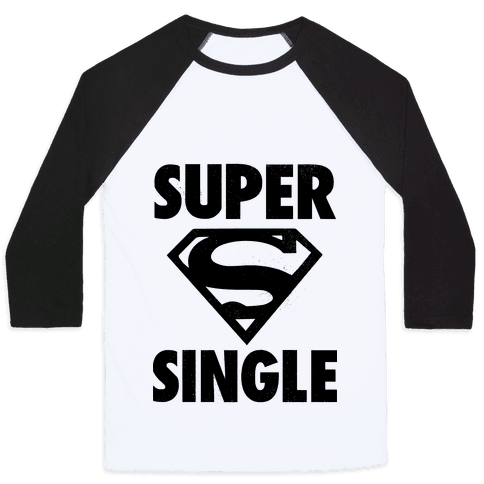 Super Single Baseball Tee