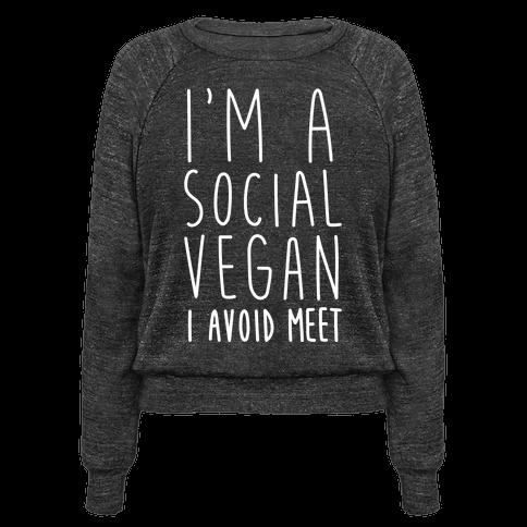 Im A Social Vegan, I Avoid Meet