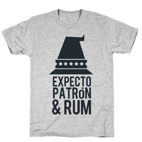 Expecto Tequila and Rum Mens T-Shirt