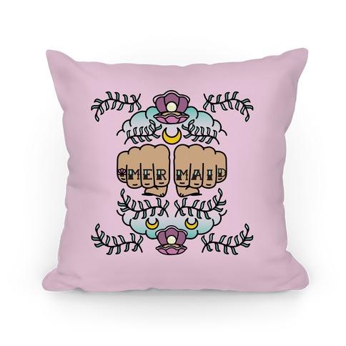 Mermaid Knuckles Pillow