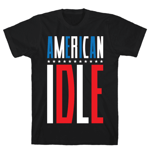 American Idle Mens T-Shirt