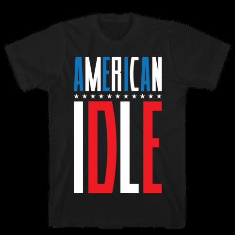 American Idle Mens T-Shirt