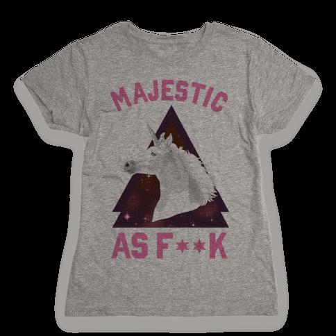 Majestic as F*** Womens T-Shirt
