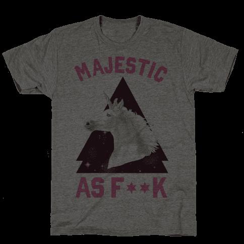 Majestic as F*** Mens T-Shirt