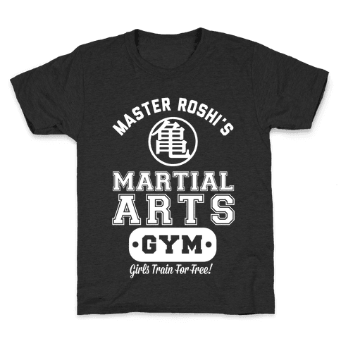 Master Roshi's Martial Arts Gym Kids T-Shirt