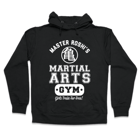 Master Roshi's Martial Arts Gym Hooded Sweatshirt