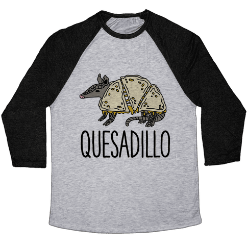 Quesadillo Baseball Tee