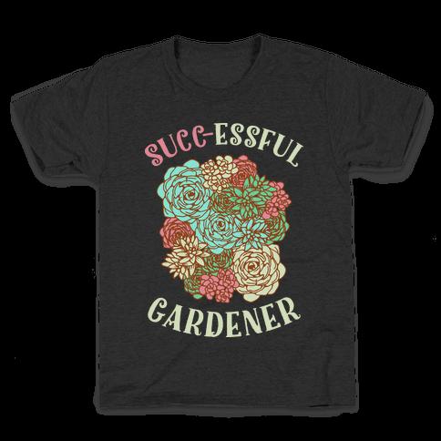 Succ-essful Gardener Kids T-Shirt