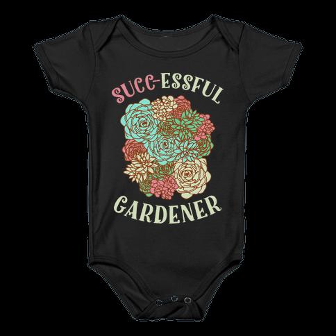 Succ-essful Gardener Baby Onesy