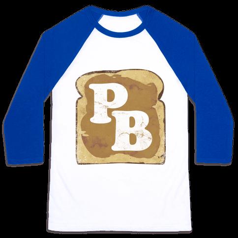 PB and J (Peanut Butter) Baseball Tee