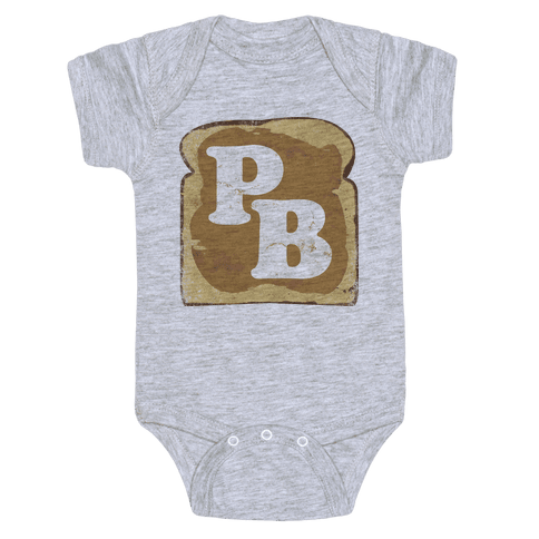 PB and J (Peanut Butter) Baby Onesy