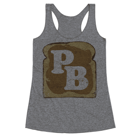 PB and J (Peanut Butter) Racerback Tank Top